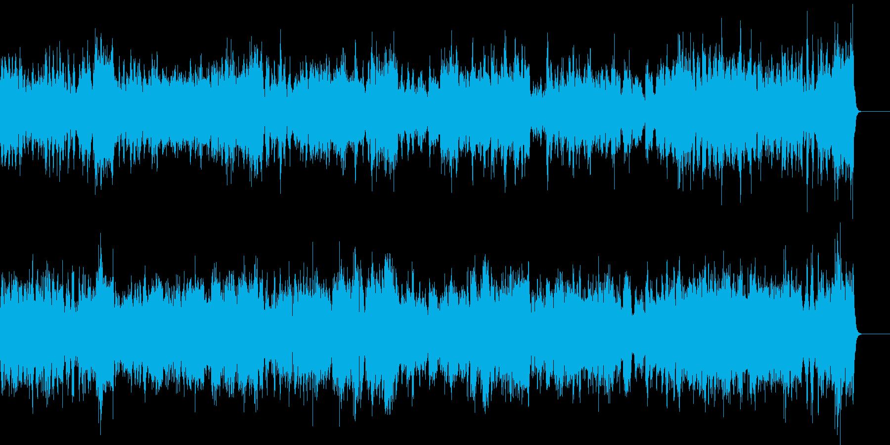 ピアノ2台の豪華な曲・3楽章(バッハ)の再生済みの波形