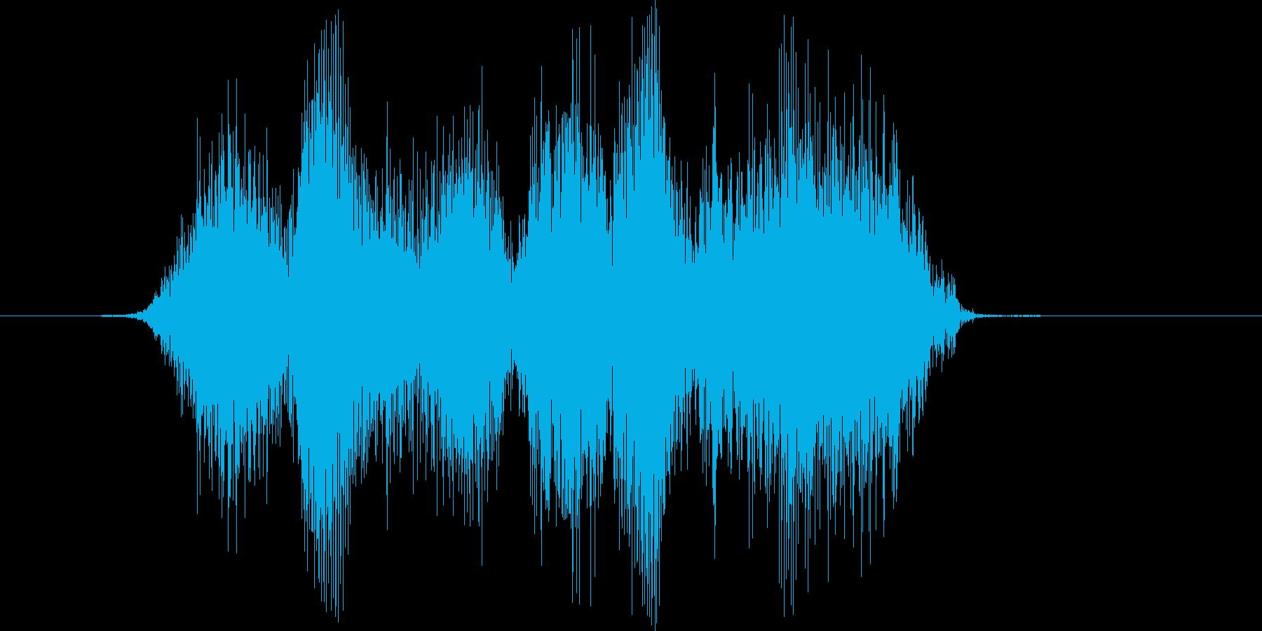 「シハシハ」の再生済みの波形