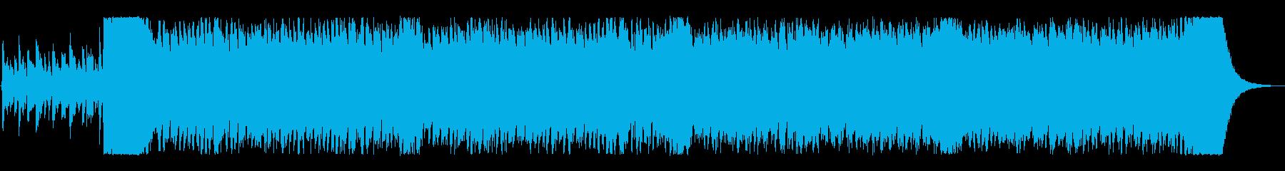 コミカル&不気味なオーケストラハロウィンの再生済みの波形