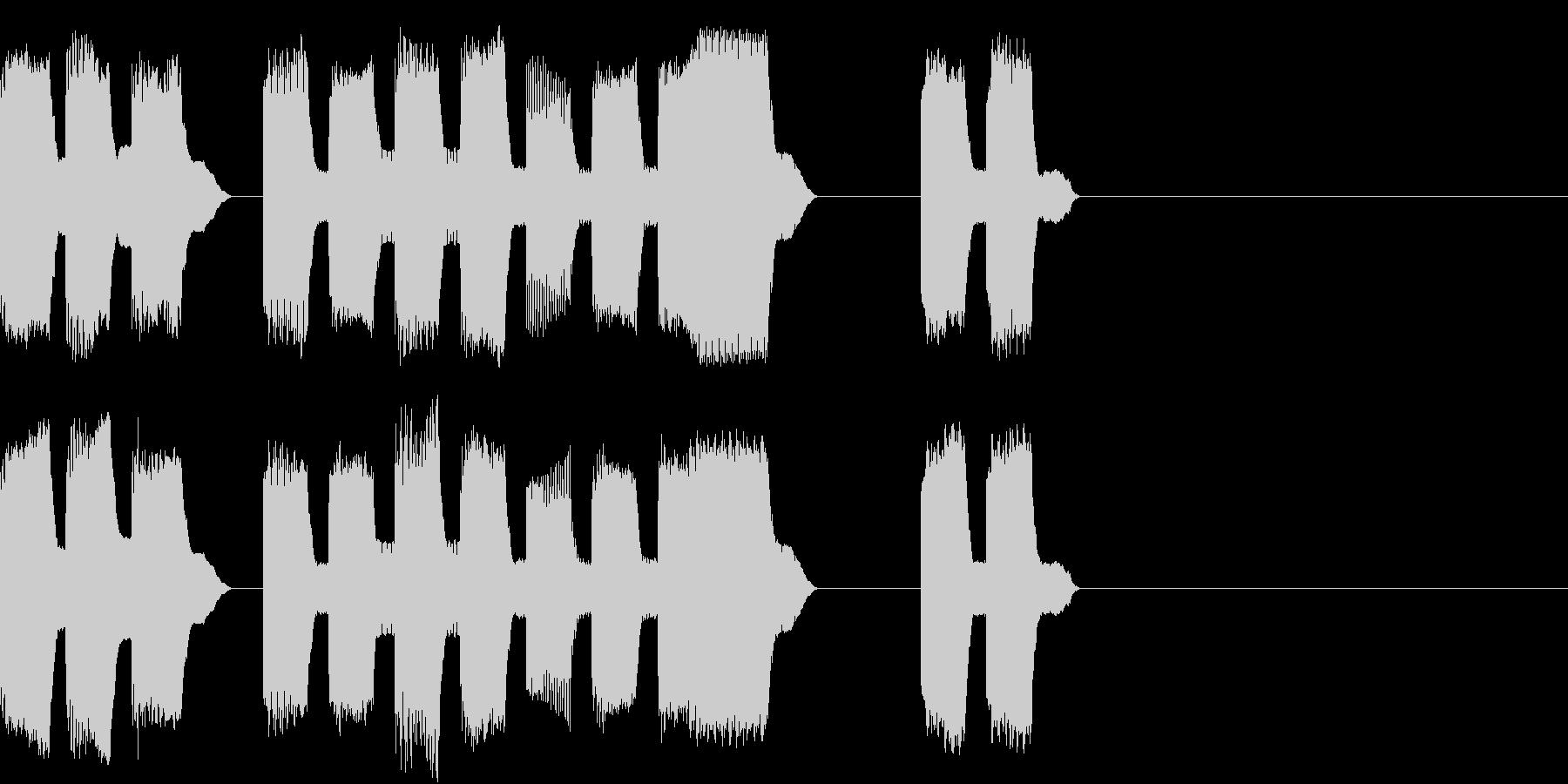 RetroGame 可愛いゲームオーバーの未再生の波形