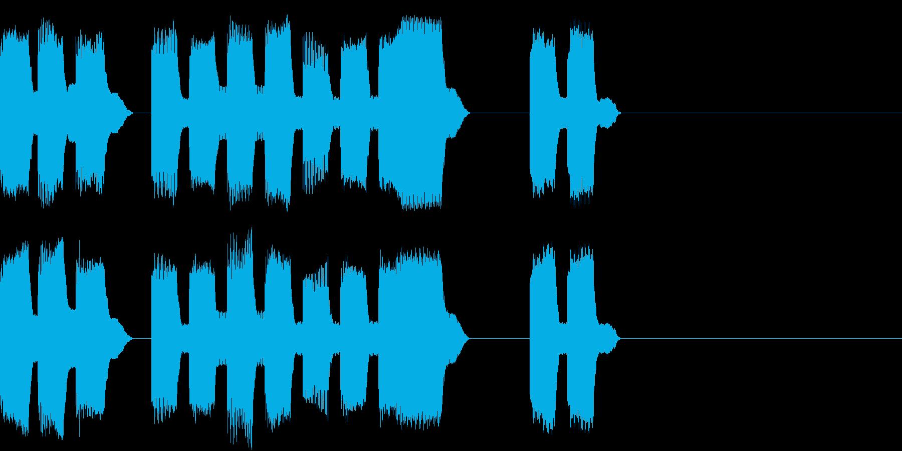 RetroGame 可愛いゲームオーバーの再生済みの波形