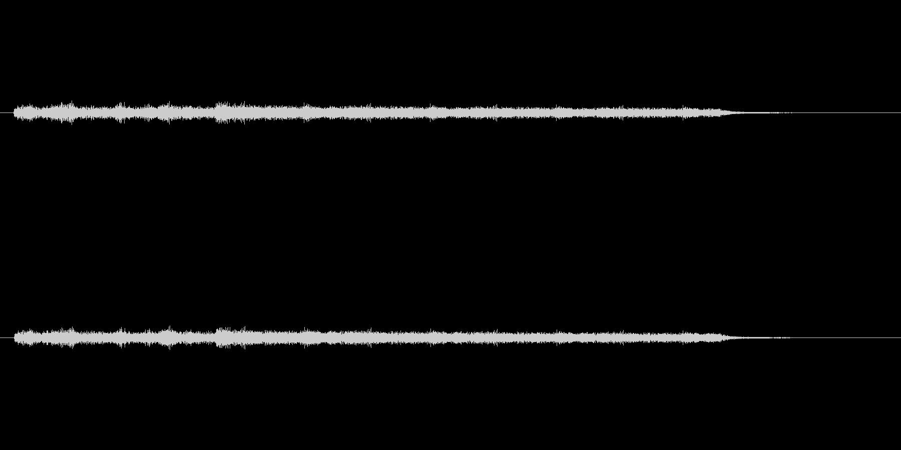 「ジャララララン (シンセ音)」の未再生の波形