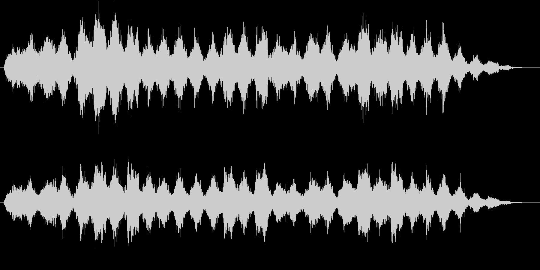 孤独瞑想(リラックス)【オーケストラ】の未再生の波形