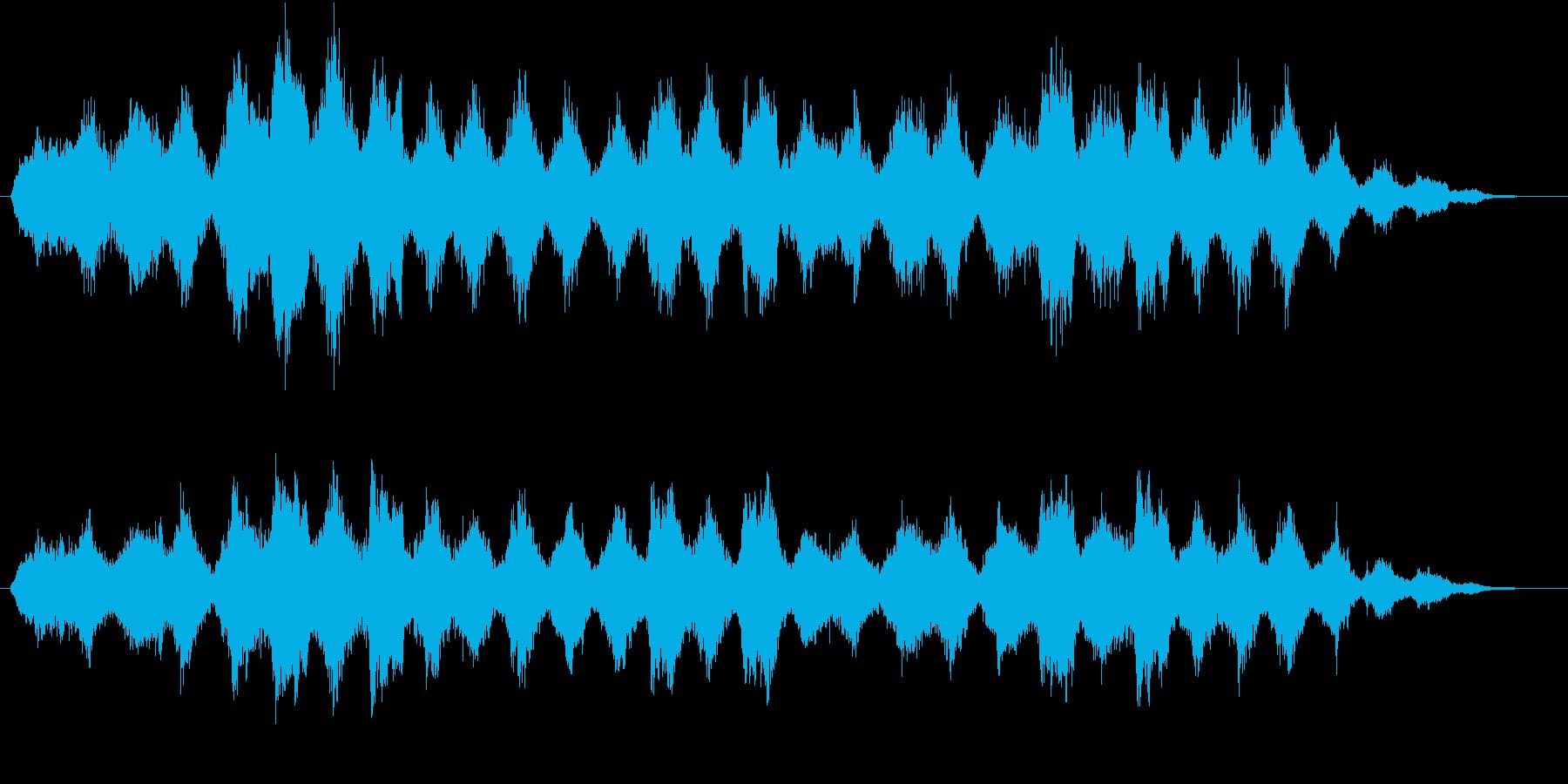 孤独瞑想(リラックス)【オーケストラ】の再生済みの波形