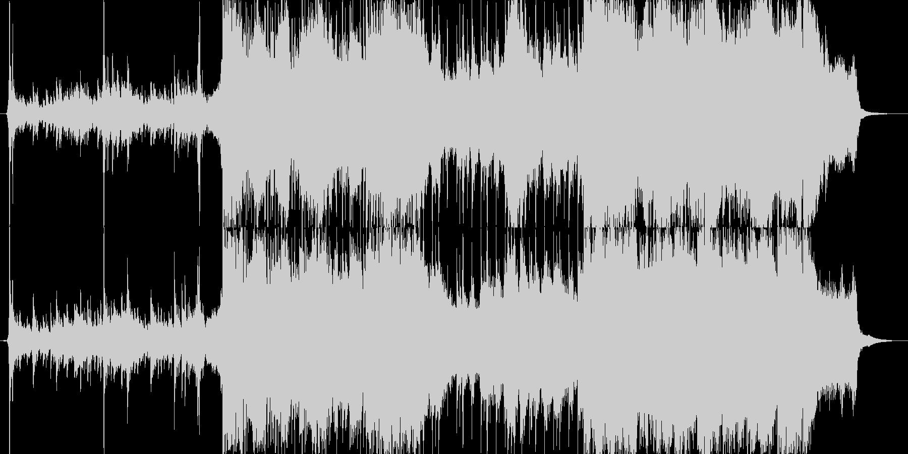 幻想的なSoundtrackの未再生の波形
