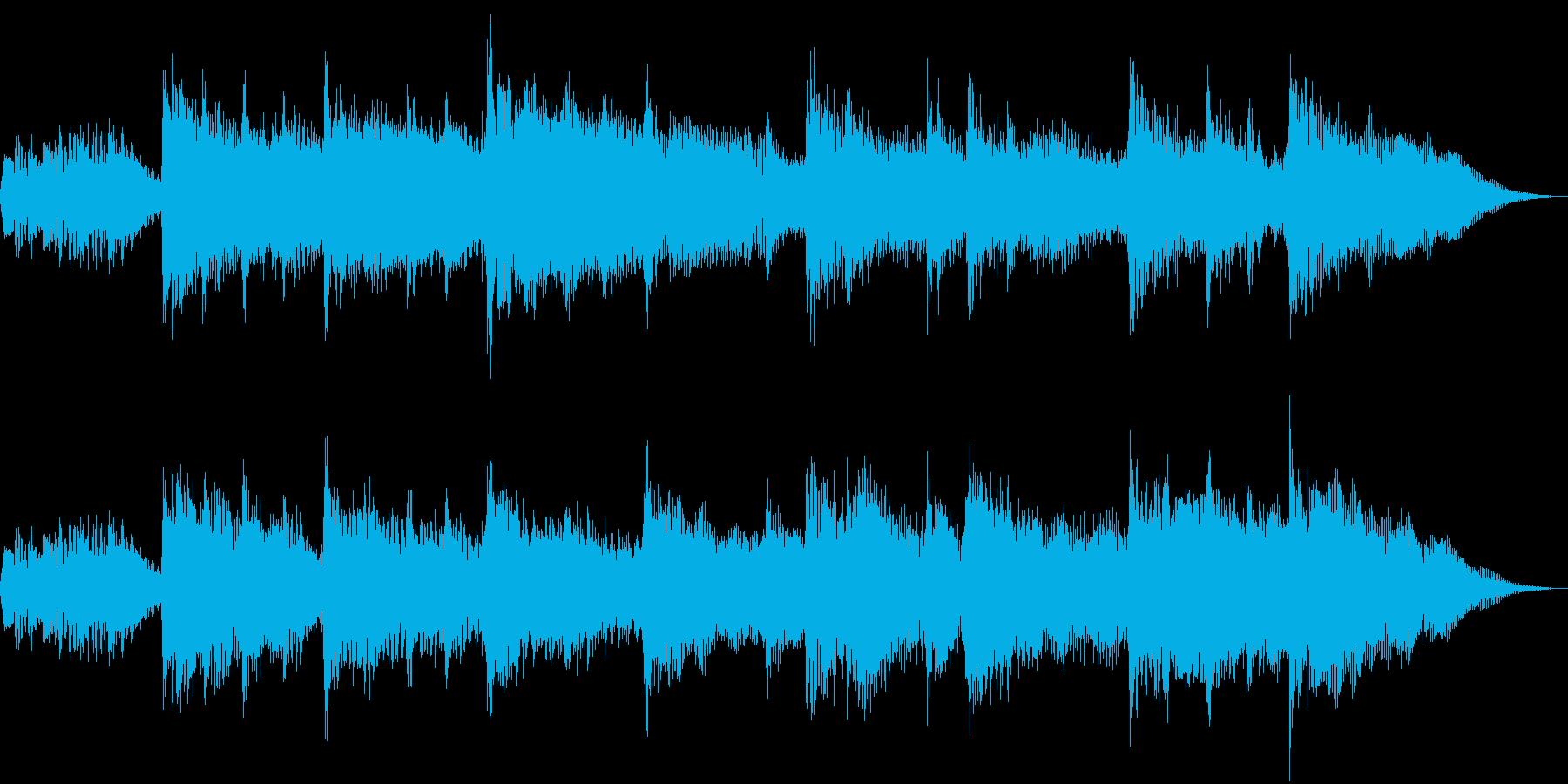 お正月をイメージした短い曲です。の再生済みの波形