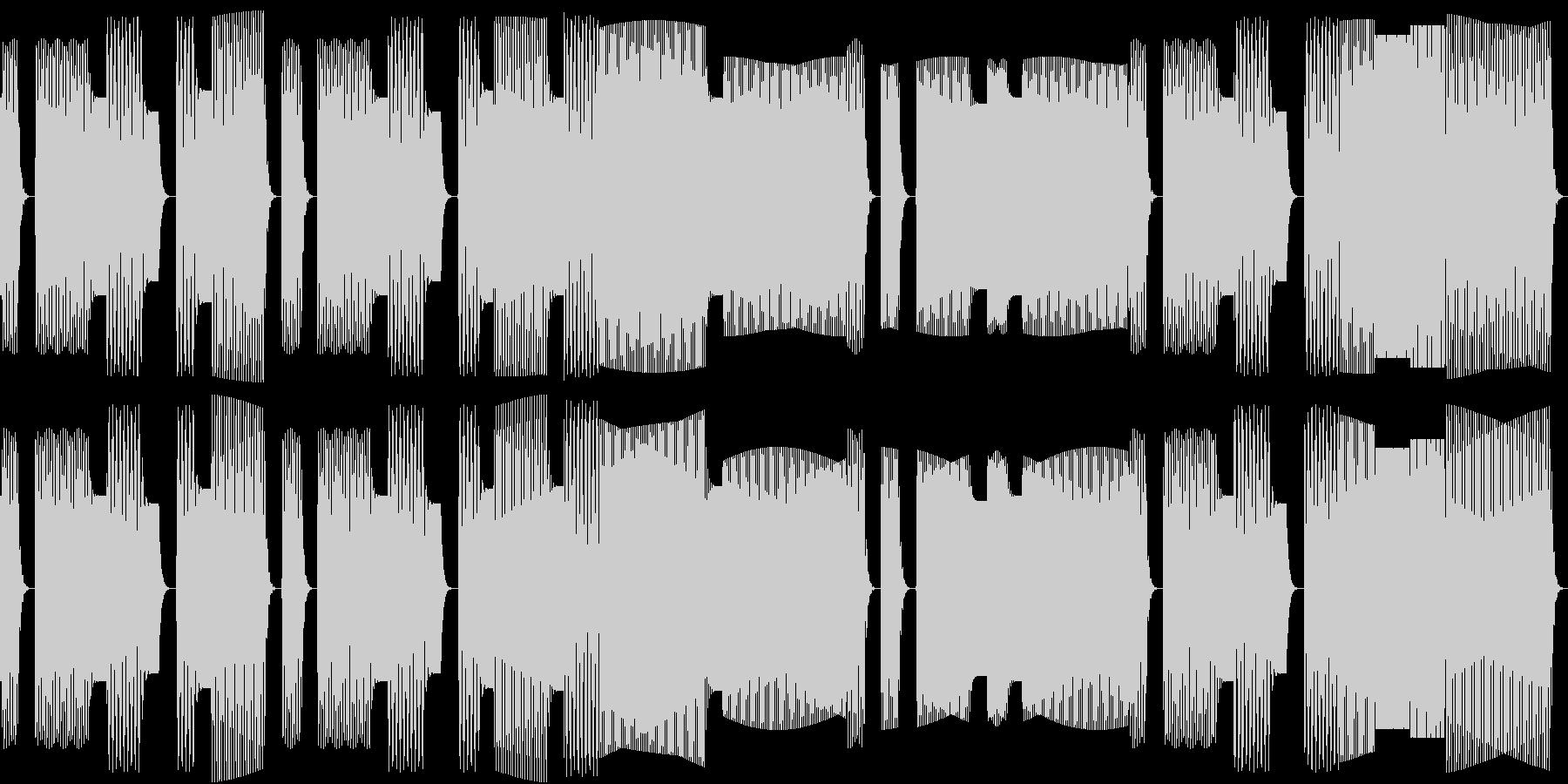 鳩の合唱をイメージした素朴な童謡。の未再生の波形