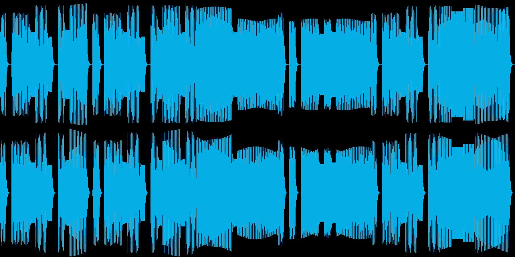 鳩の合唱をイメージした素朴な童謡。の再生済みの波形