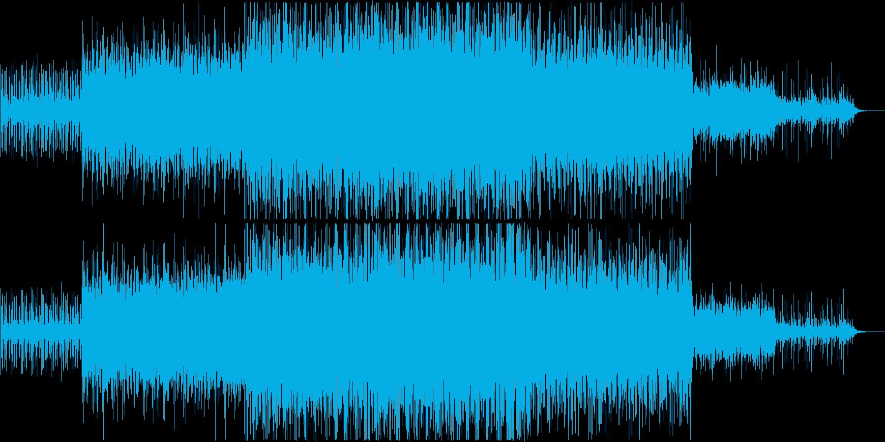 アフリカ風BGMですの再生済みの波形