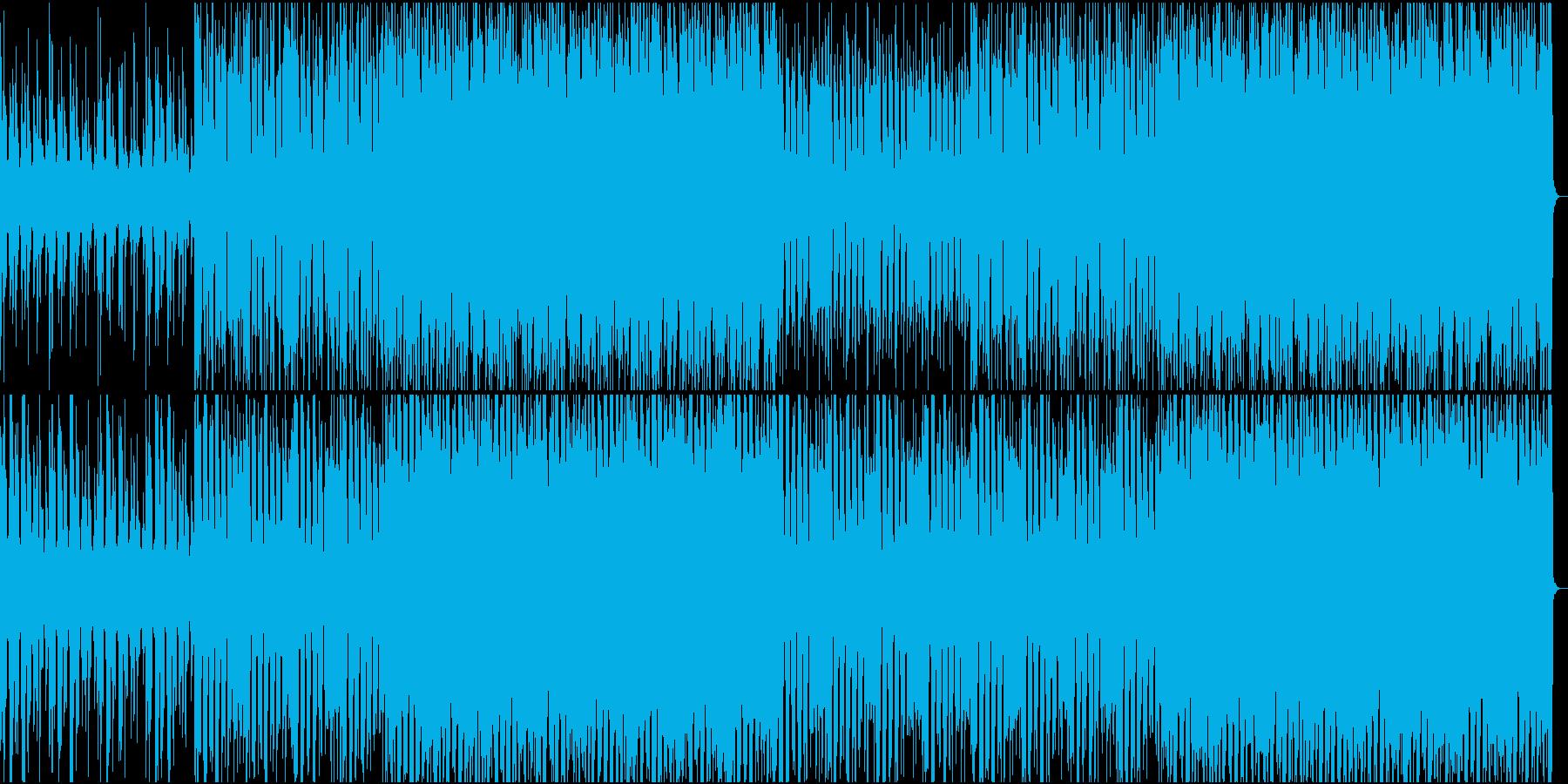 クラシックスタイルのディスコの再生済みの波形