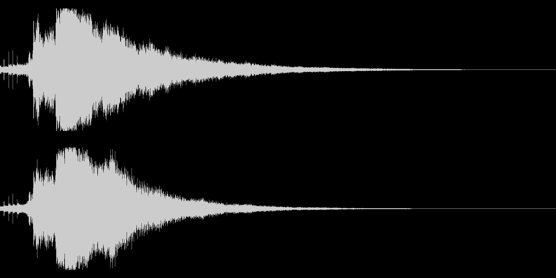 キラキラ☆シャキーン(輝きや魔法など)7の未再生の波形