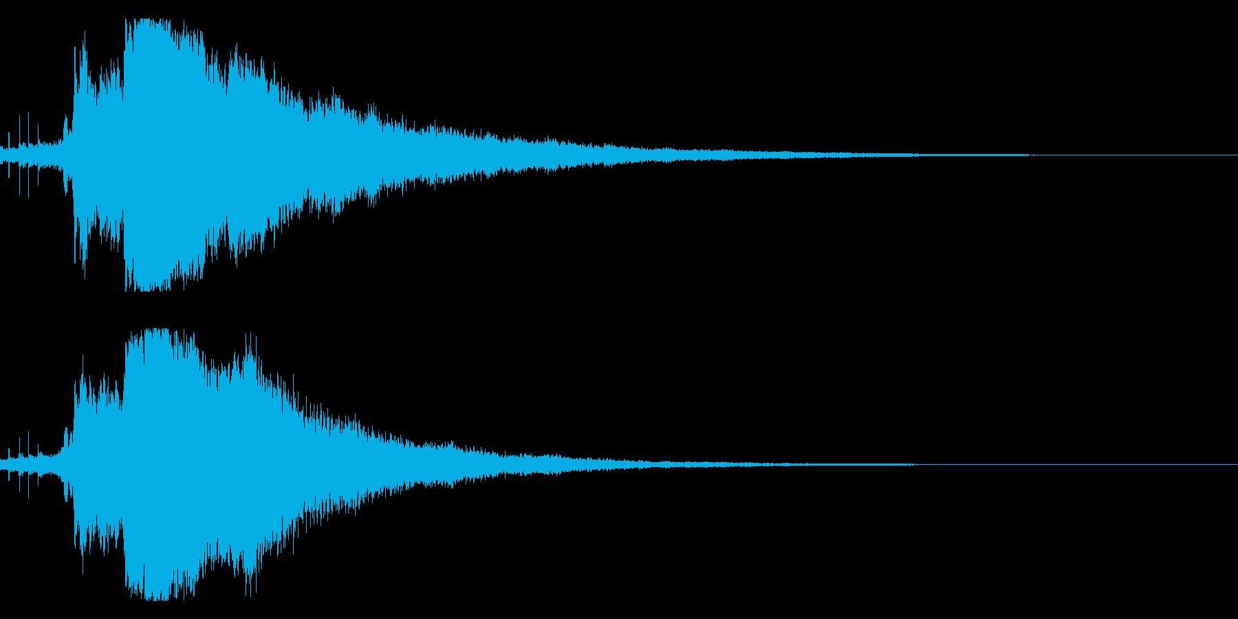 キラキラ☆シャキーン(輝きや魔法など)7の再生済みの波形