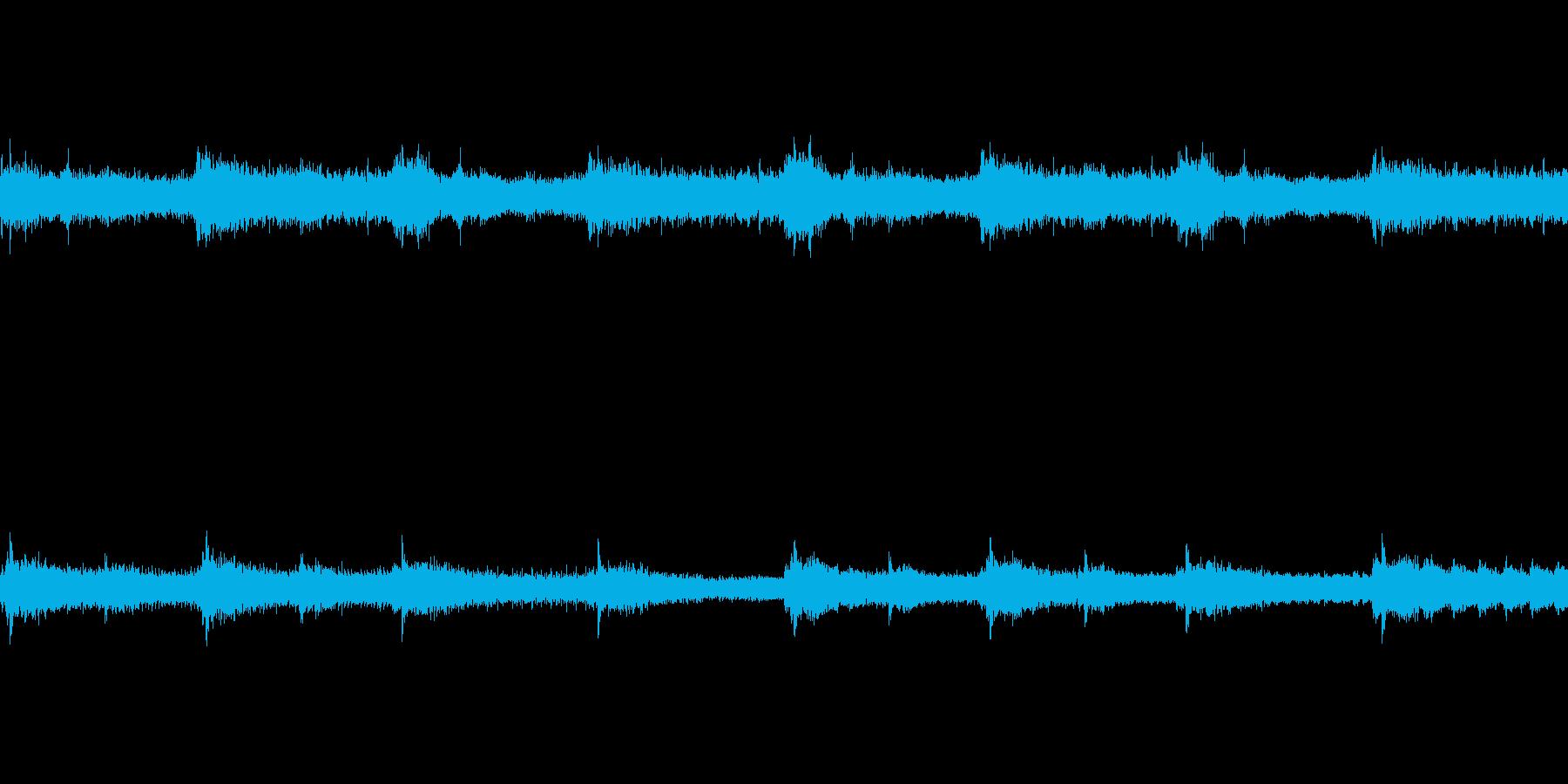 ガシャンガシャンの再生済みの波形