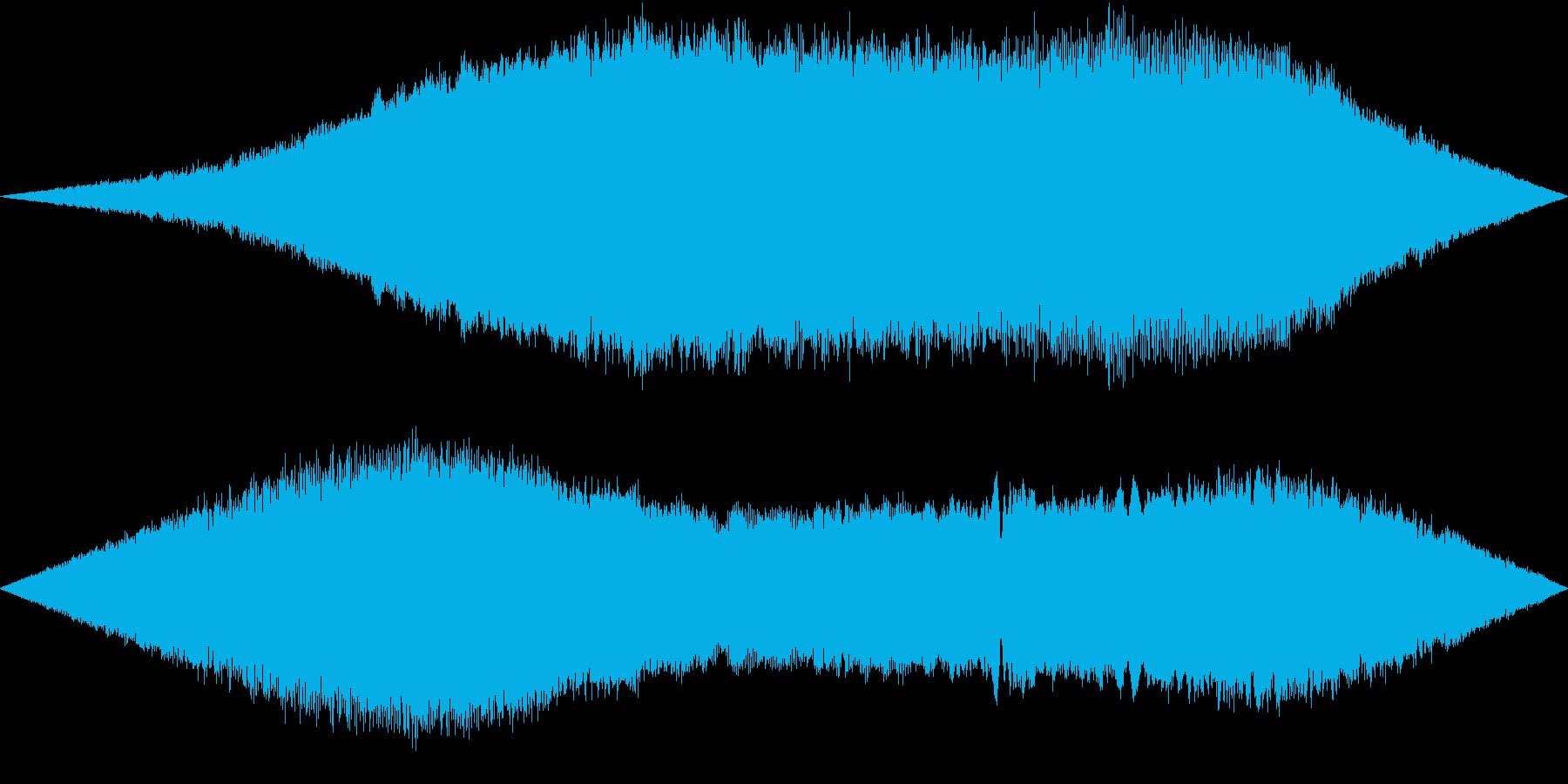 機械的な起動する音の再生済みの波形