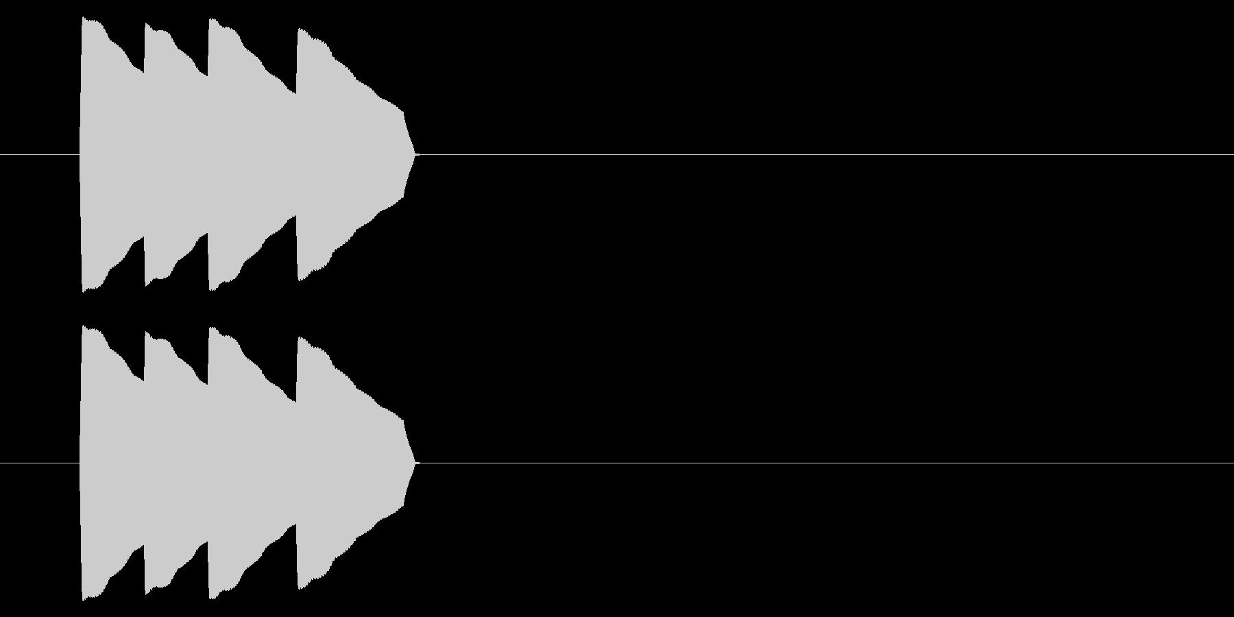 アーケード アクション01-4(スコア)の未再生の波形