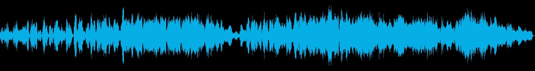 クラリネットが印象的な悲しいバラードの再生済みの波形