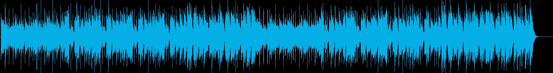 都会なイメージのソウルミュージックの再生済みの波形