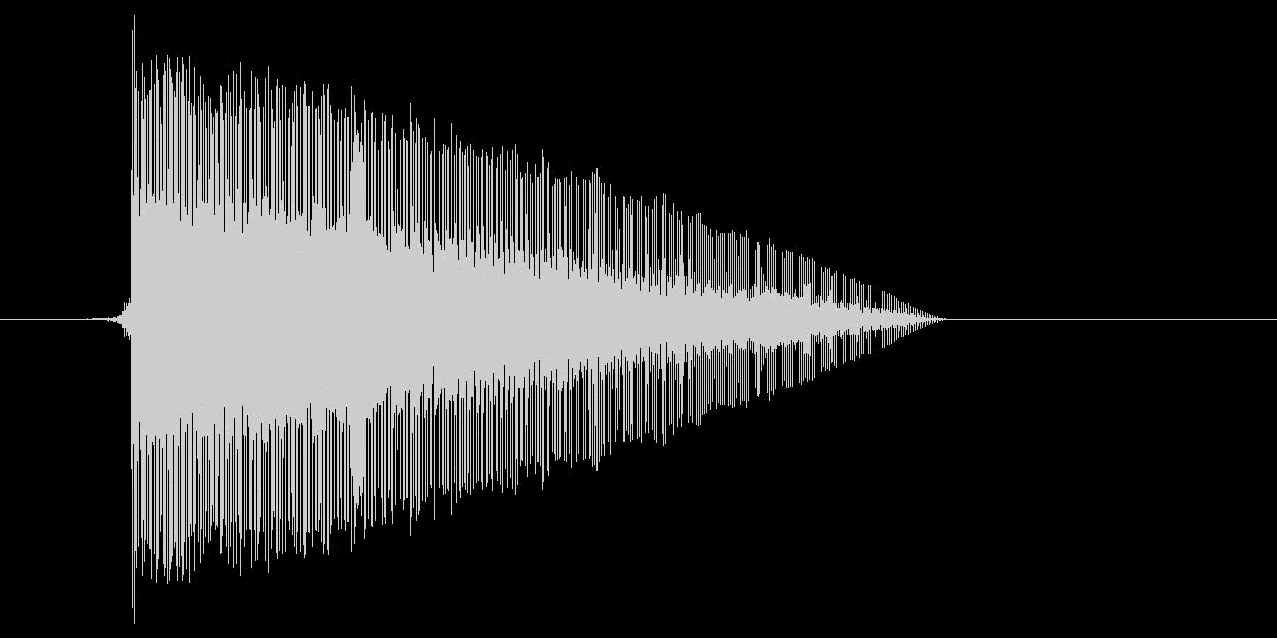 ゲーム(ファミコン風)レーザー音_036の未再生の波形