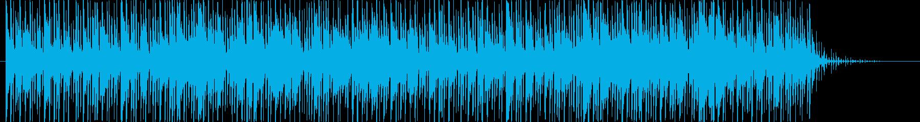 アジアンテイスト_BGMの再生済みの波形