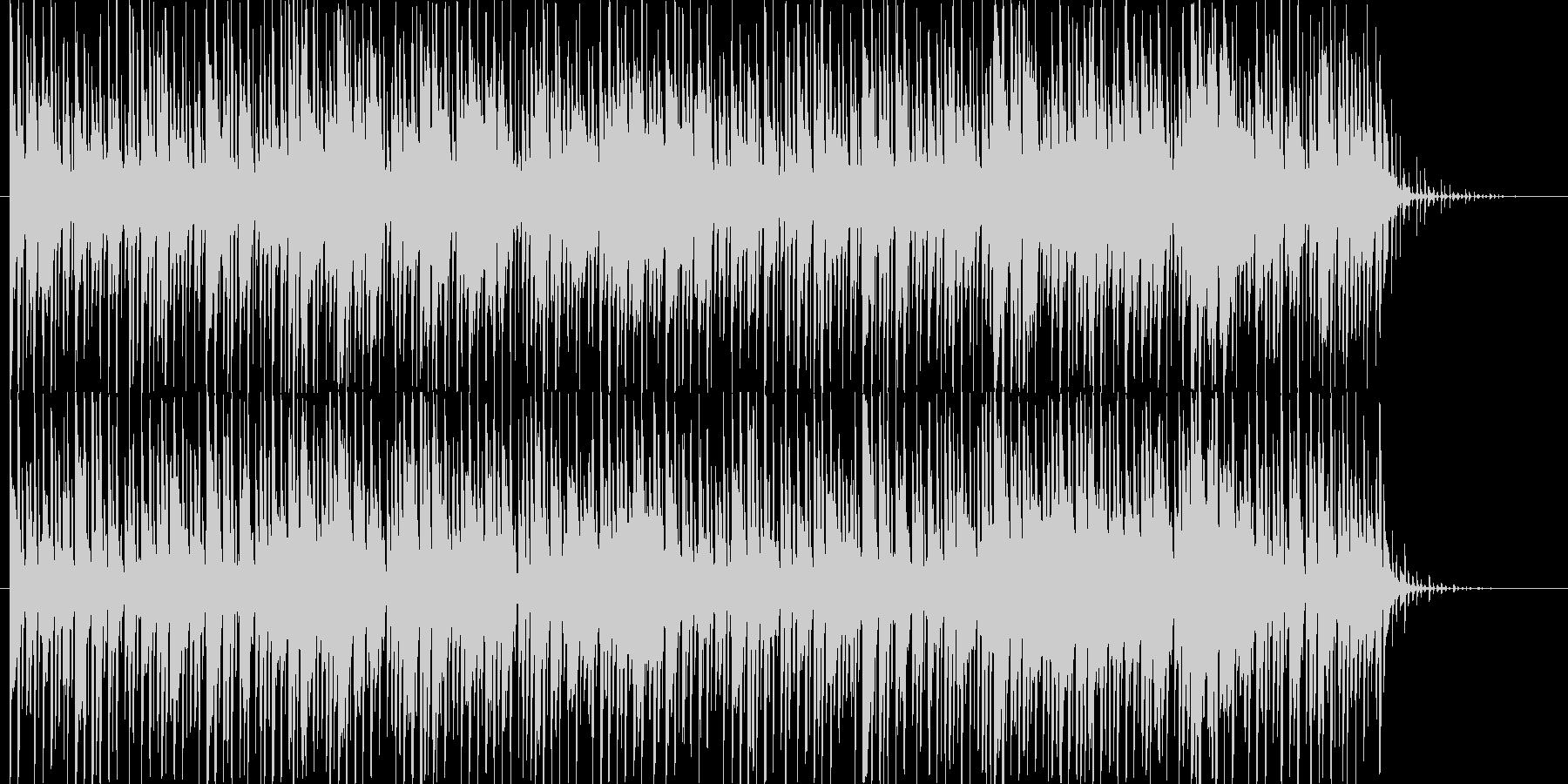 アジアンテイスト_BGMの未再生の波形