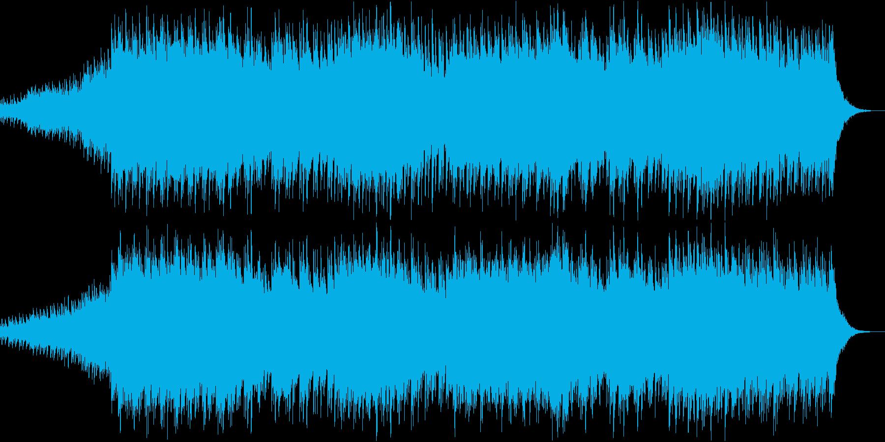 時を超えて夢を見るようなニューエイジ音楽の再生済みの波形