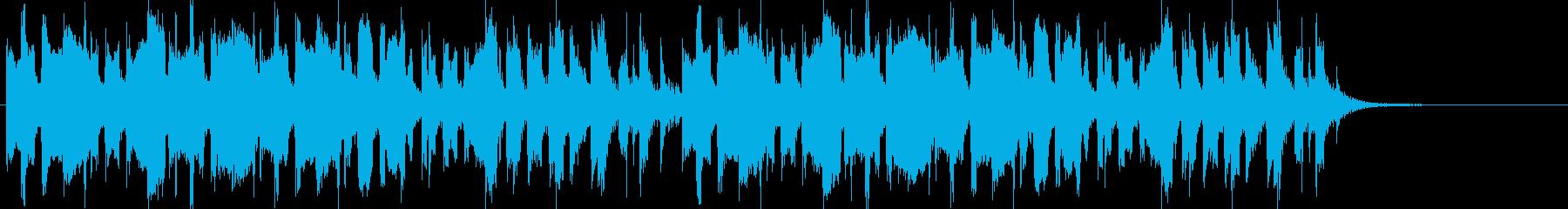 ほのぼの系 (子供や動物の動画に最適)の再生済みの波形