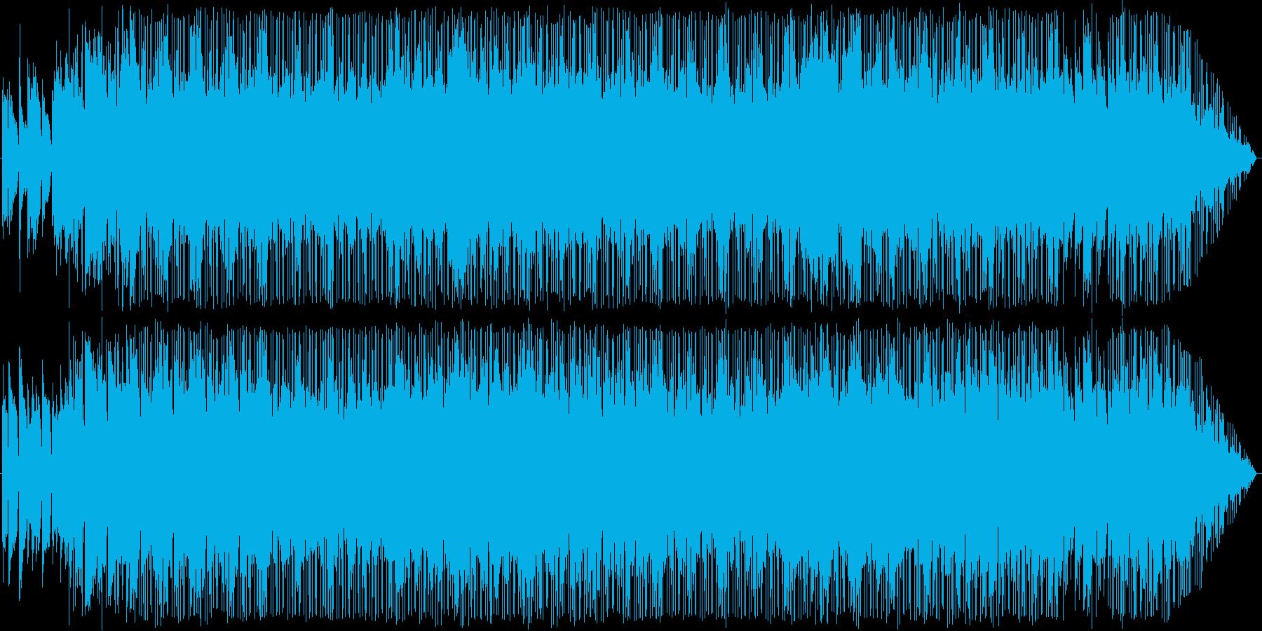 大人の事情がありそうな雰囲気の曲の再生済みの波形