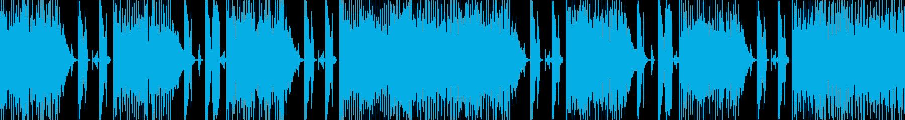 バトル前の再生済みの波形