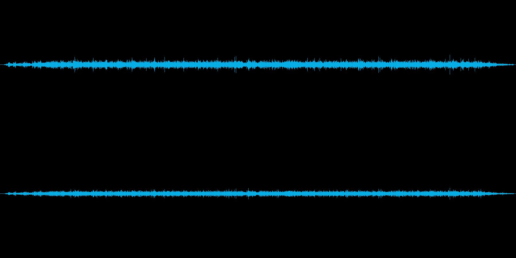 パチパチパチパチと拍手喝采の音の再生済みの波形