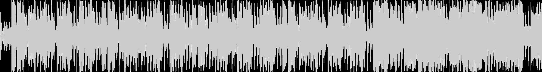 明るいロック、ブルース シンキングタイムの未再生の波形