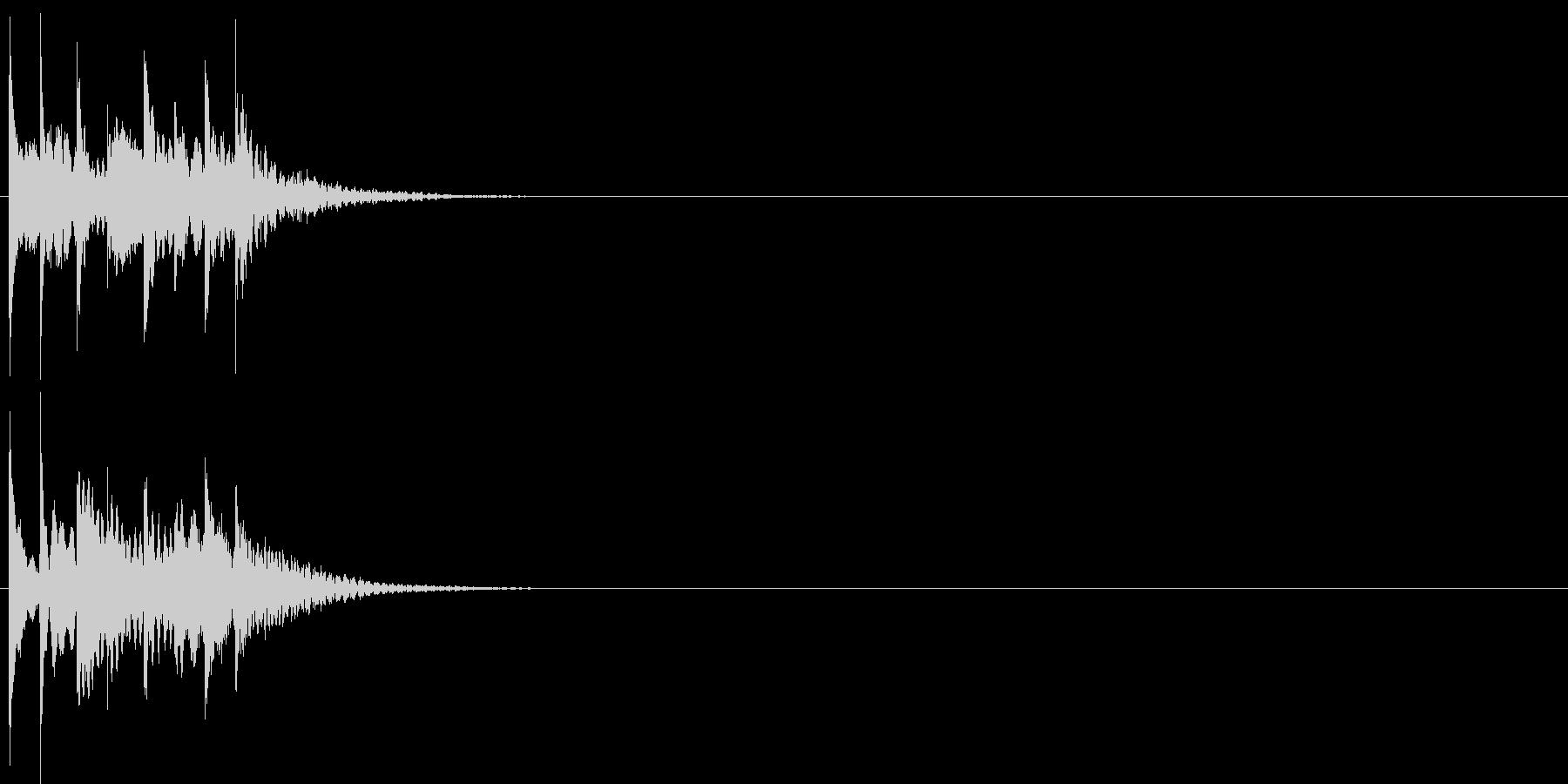 グリッサンド06 シロフォン(下降)の未再生の波形