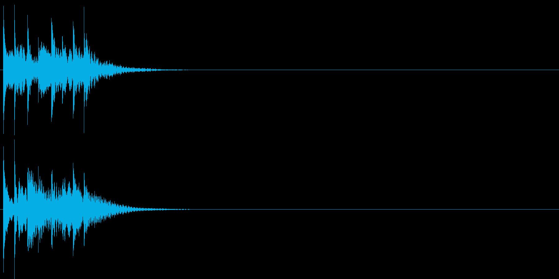 グリッサンド06 シロフォン(下降)の再生済みの波形