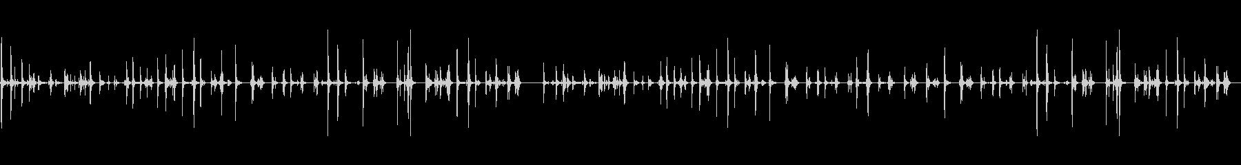 【PC キーボード01-テンキー3】の未再生の波形