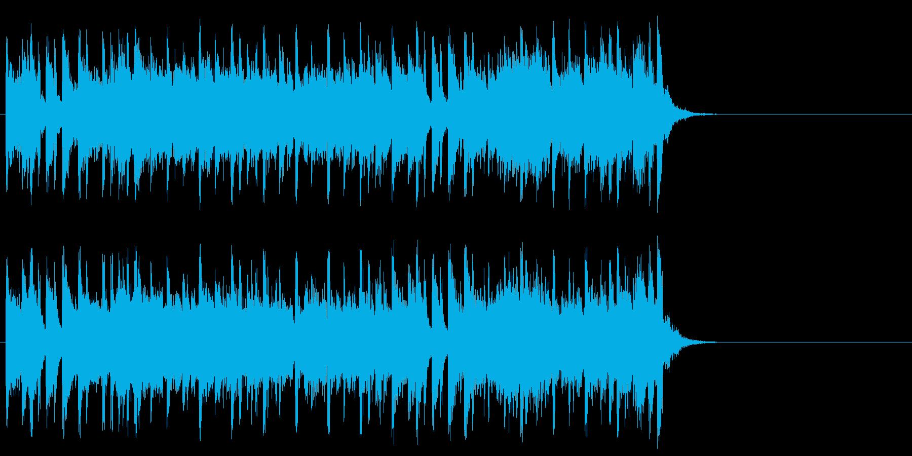 心も弾む爽やかなポップ(サビ)の再生済みの波形