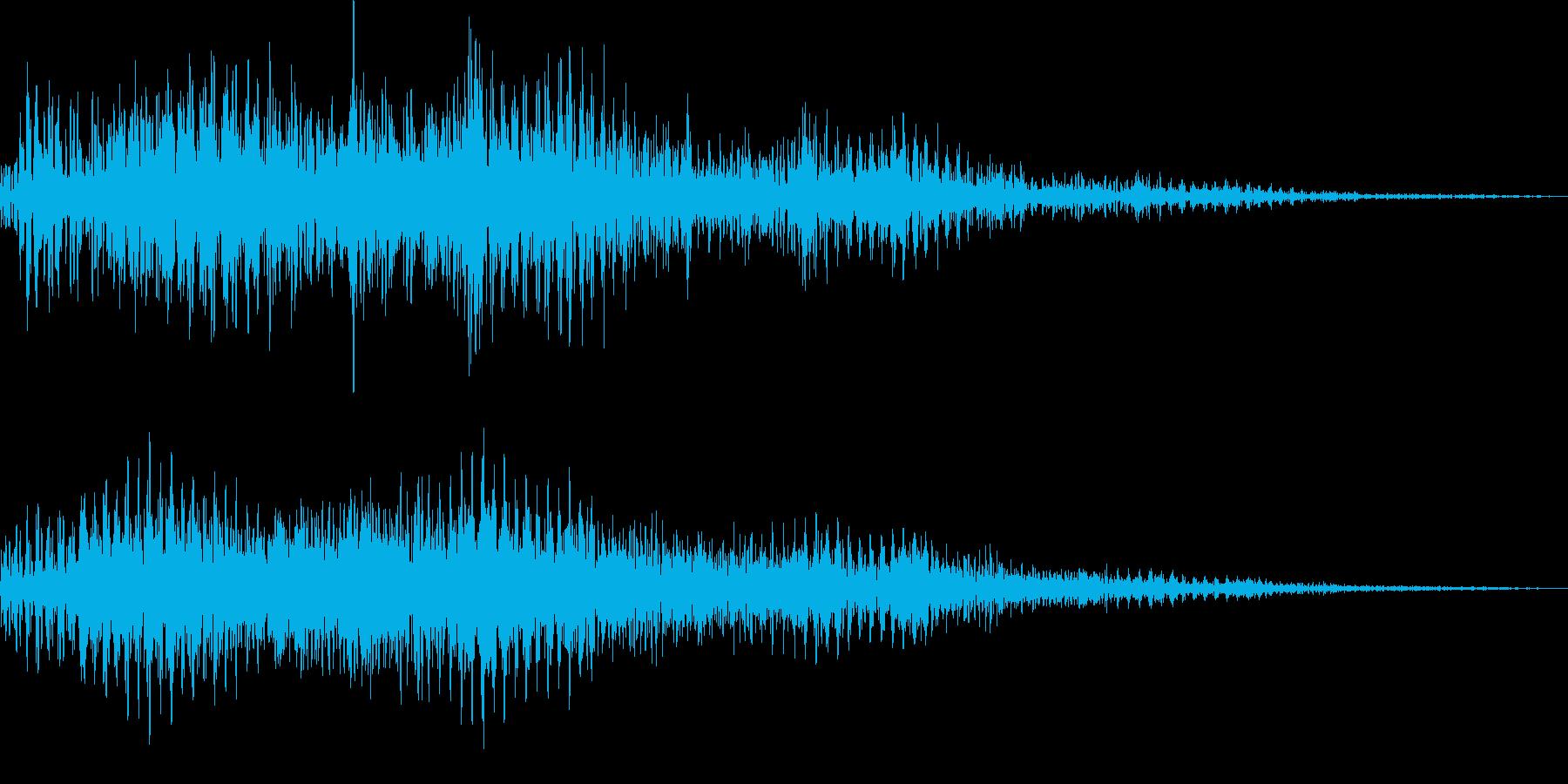 ビュワーン(ワープ、転移、モーフィング)の再生済みの波形