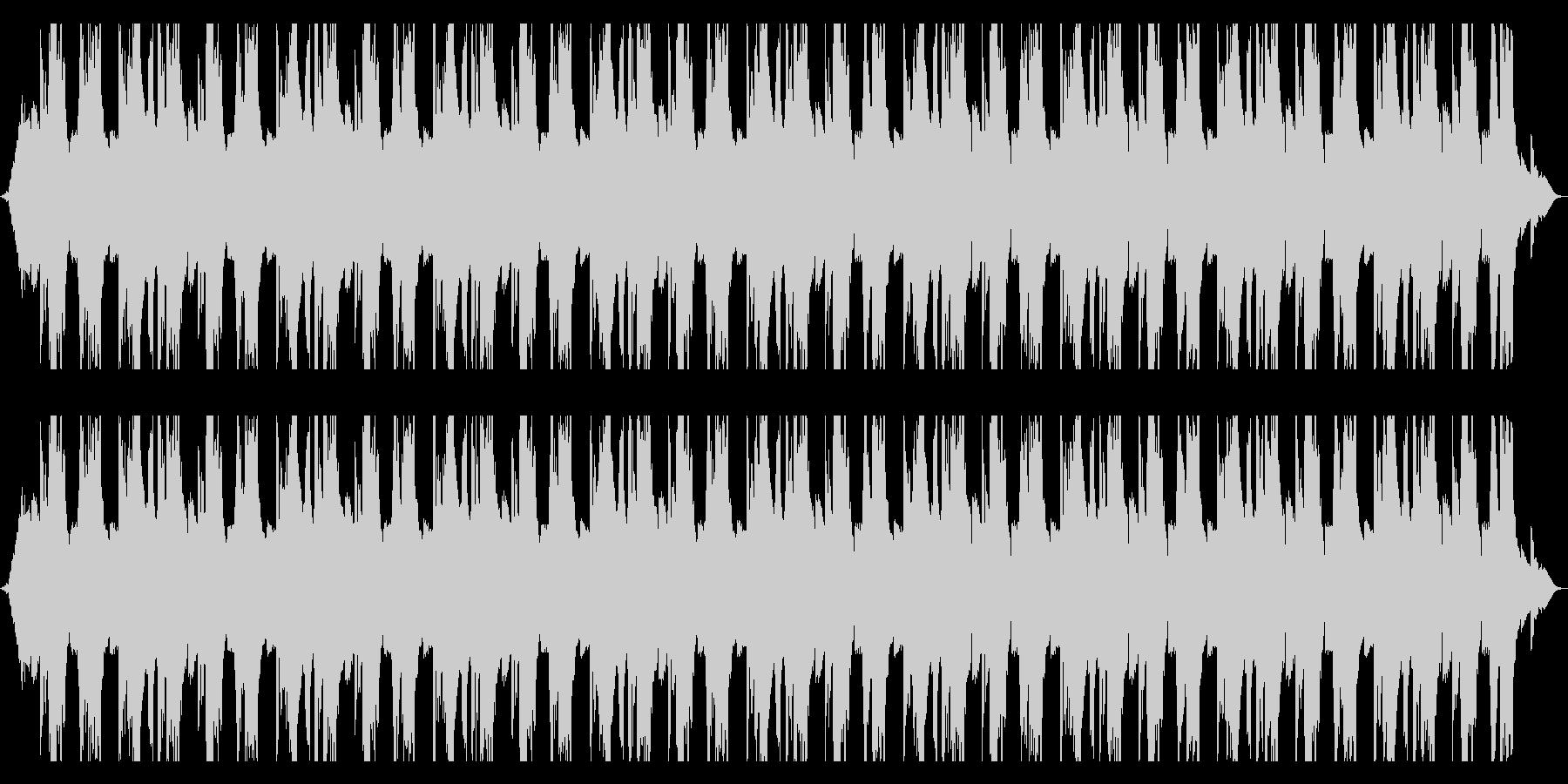 エレキのキーボードの切ない曲の未再生の波形