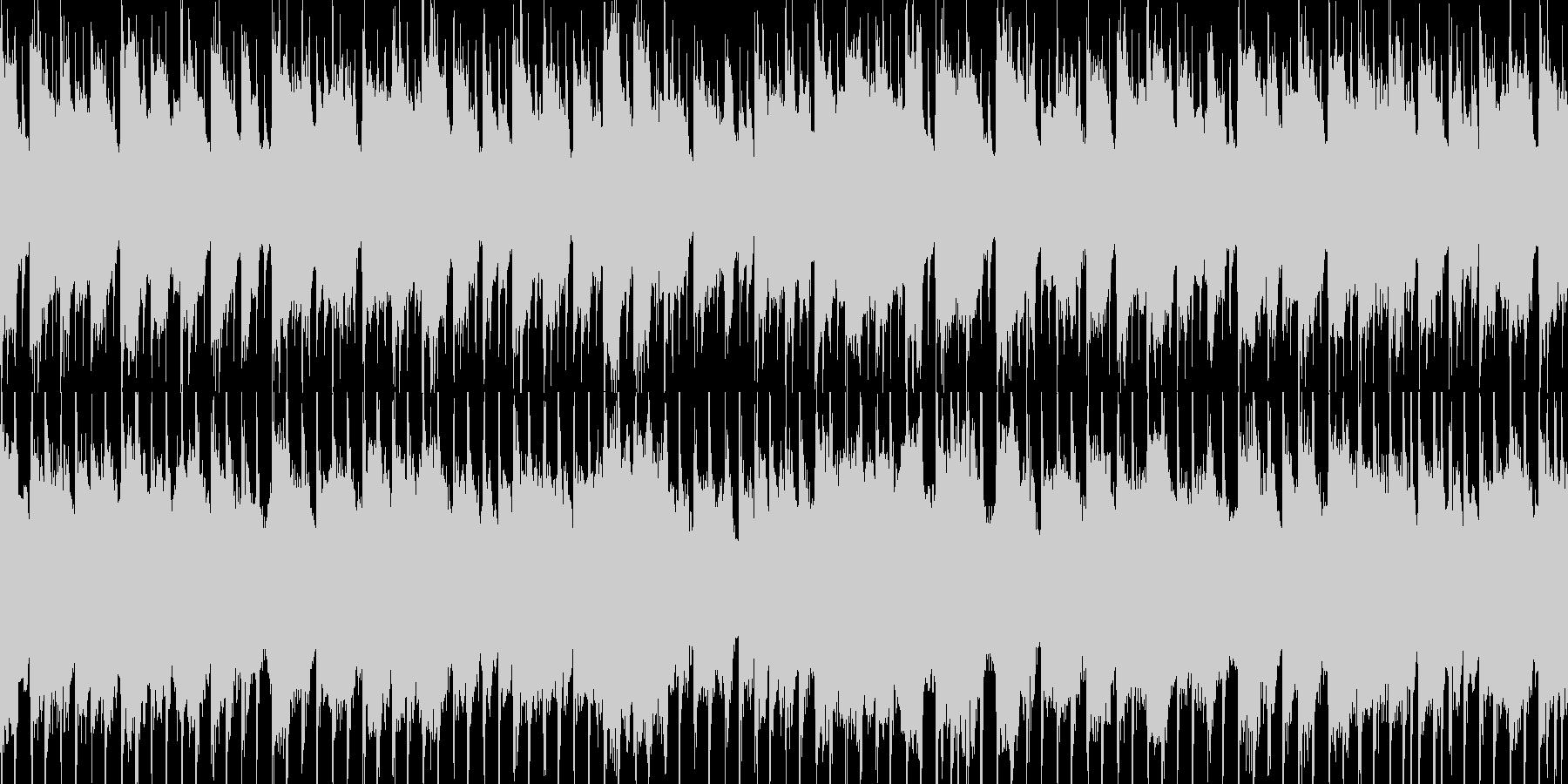 ループ素材 カントリー・バンジョー・西部の未再生の波形