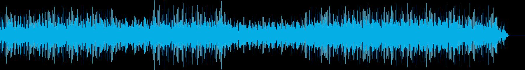 【リズムに乗れる】ノリの良いテクノロックの再生済みの波形