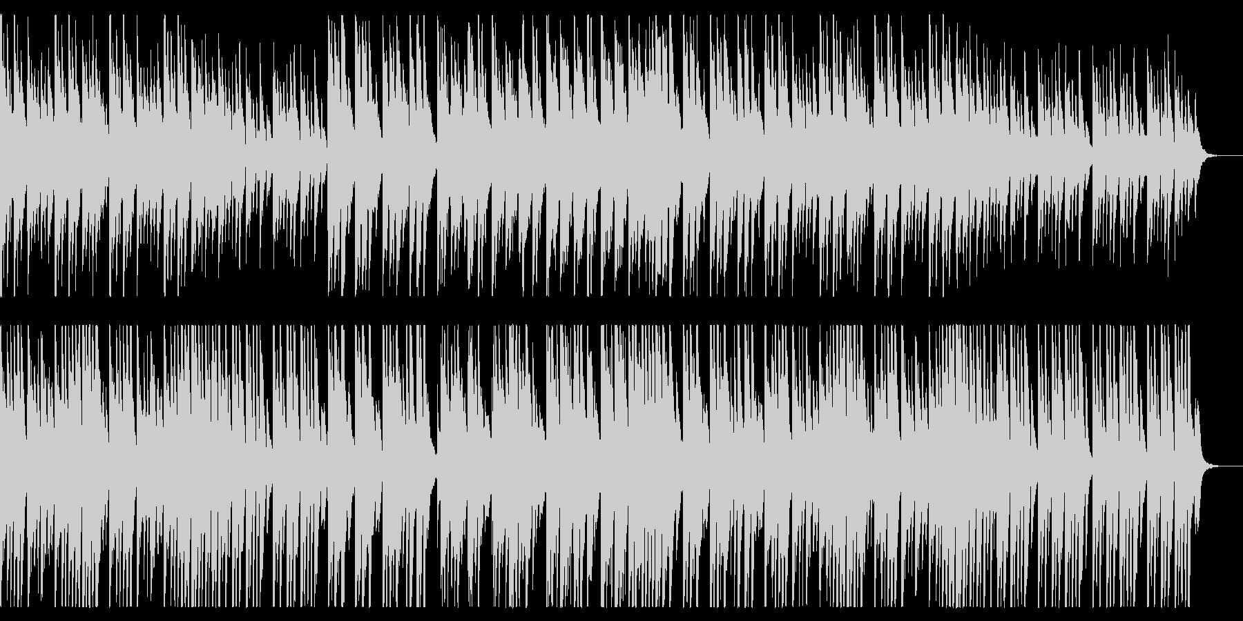 切ないピアノソロ、懐かしい雰囲気の未再生の波形