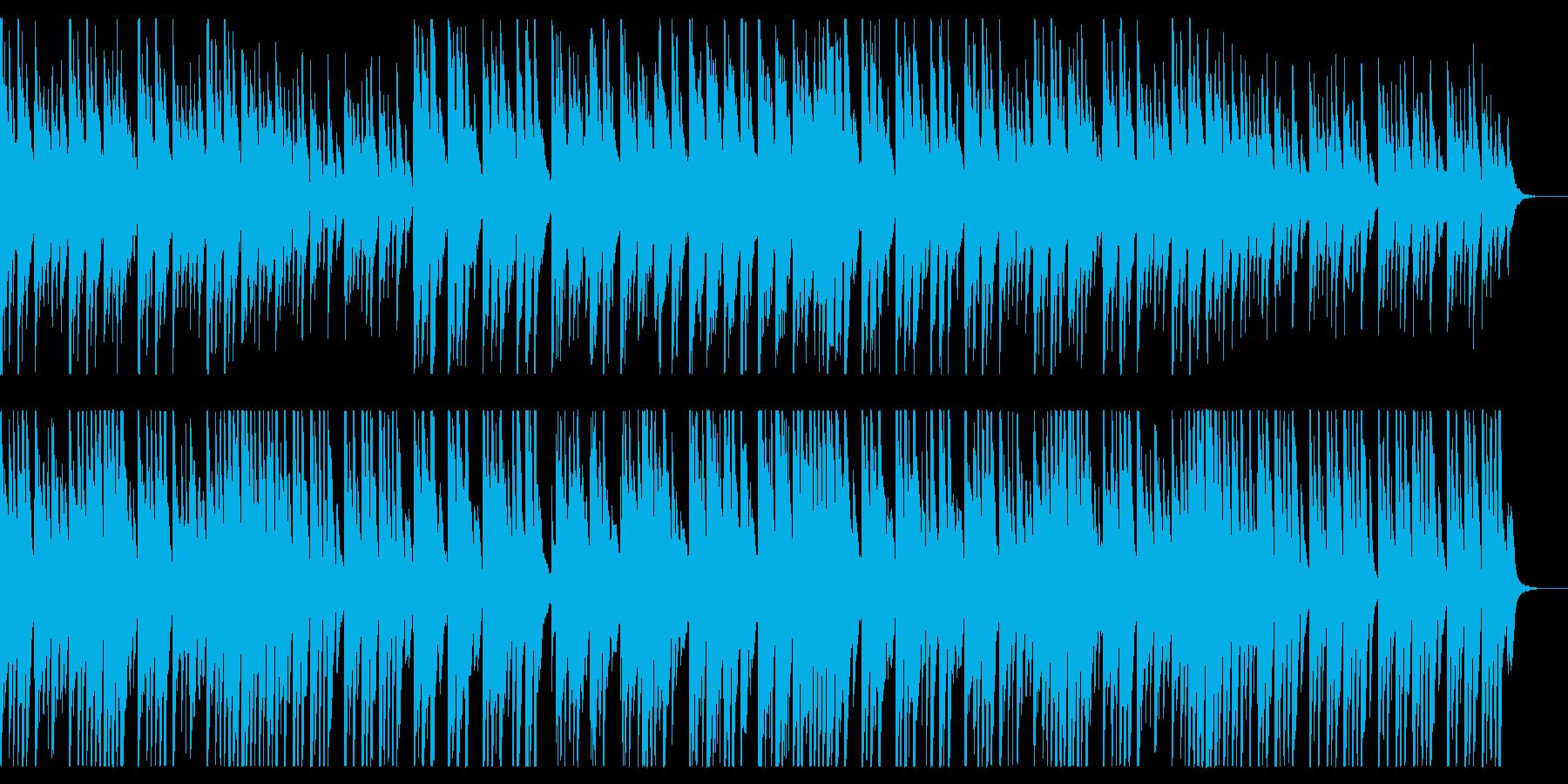 切ないピアノソロ、懐かしい雰囲気の再生済みの波形