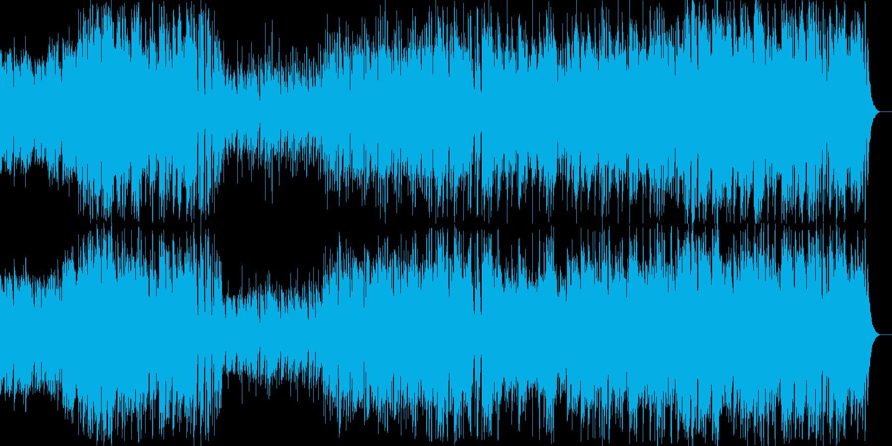 ポップでメロディアスなケルト音楽の再生済みの波形