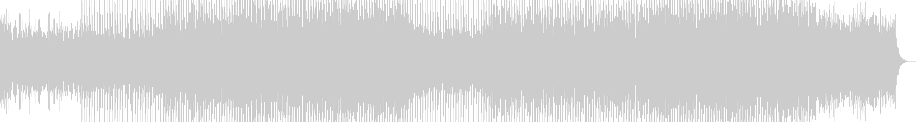 EDMクラブ系ダンスミュージック-17の未再生の波形