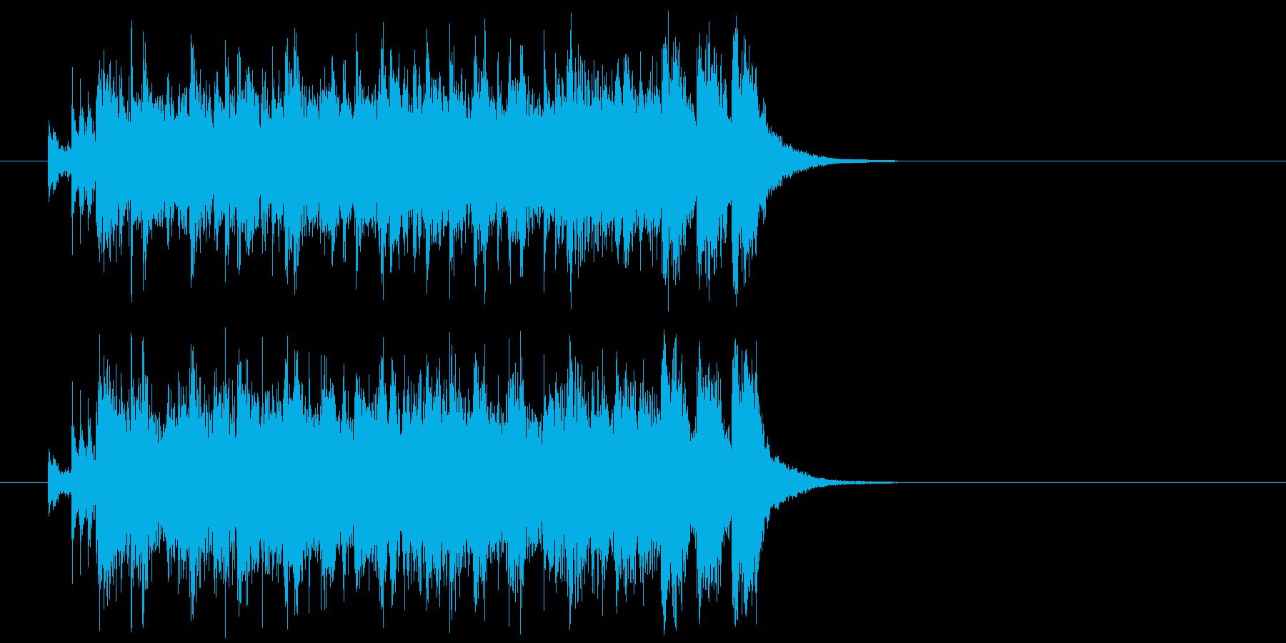 ジングル(ハイパワー転換)の再生済みの波形