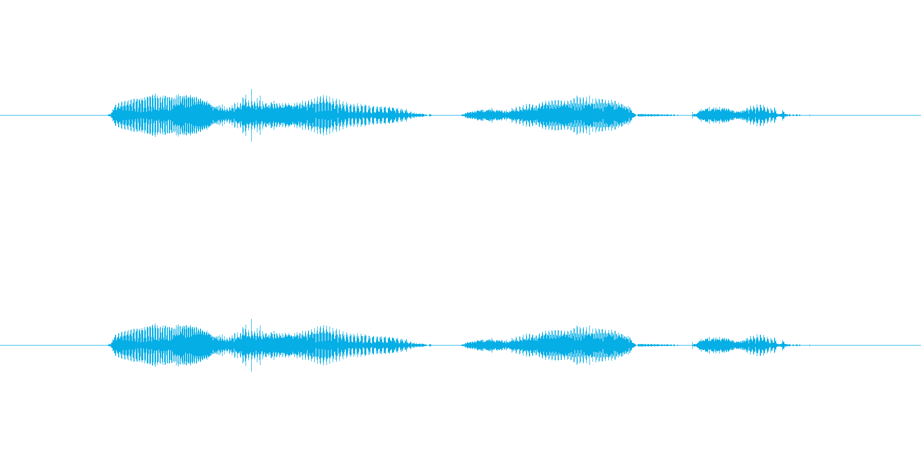 【日】21日の再生済みの波形