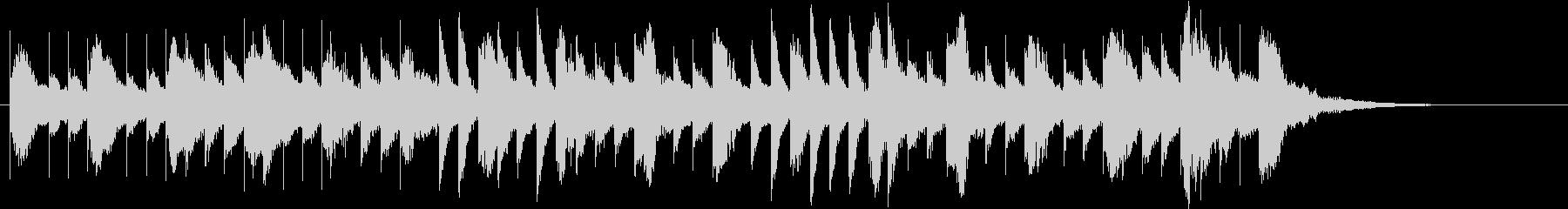パッヘルベルの「カノン」の未再生の波形