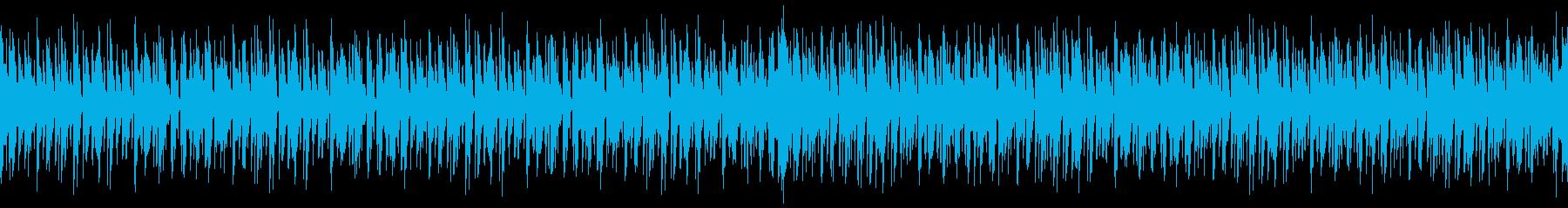 [ループ]ダンスミュージック3 60秒の再生済みの波形