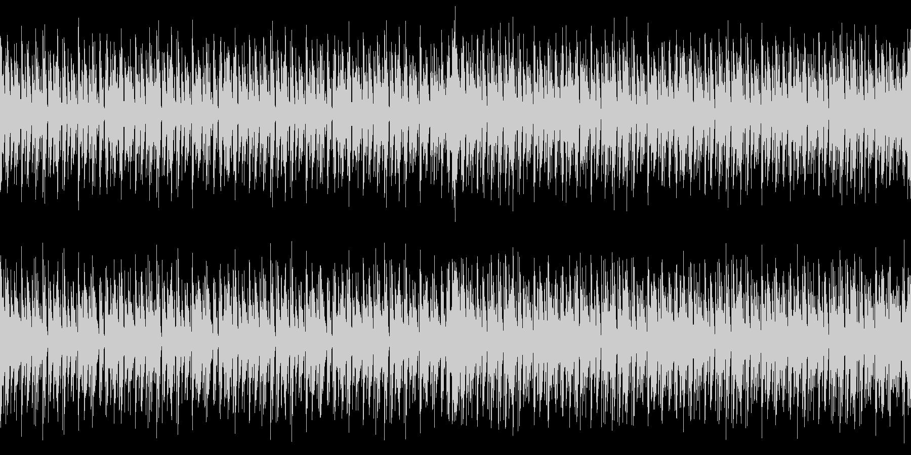 [ループ]ダンスミュージック3 60秒の未再生の波形