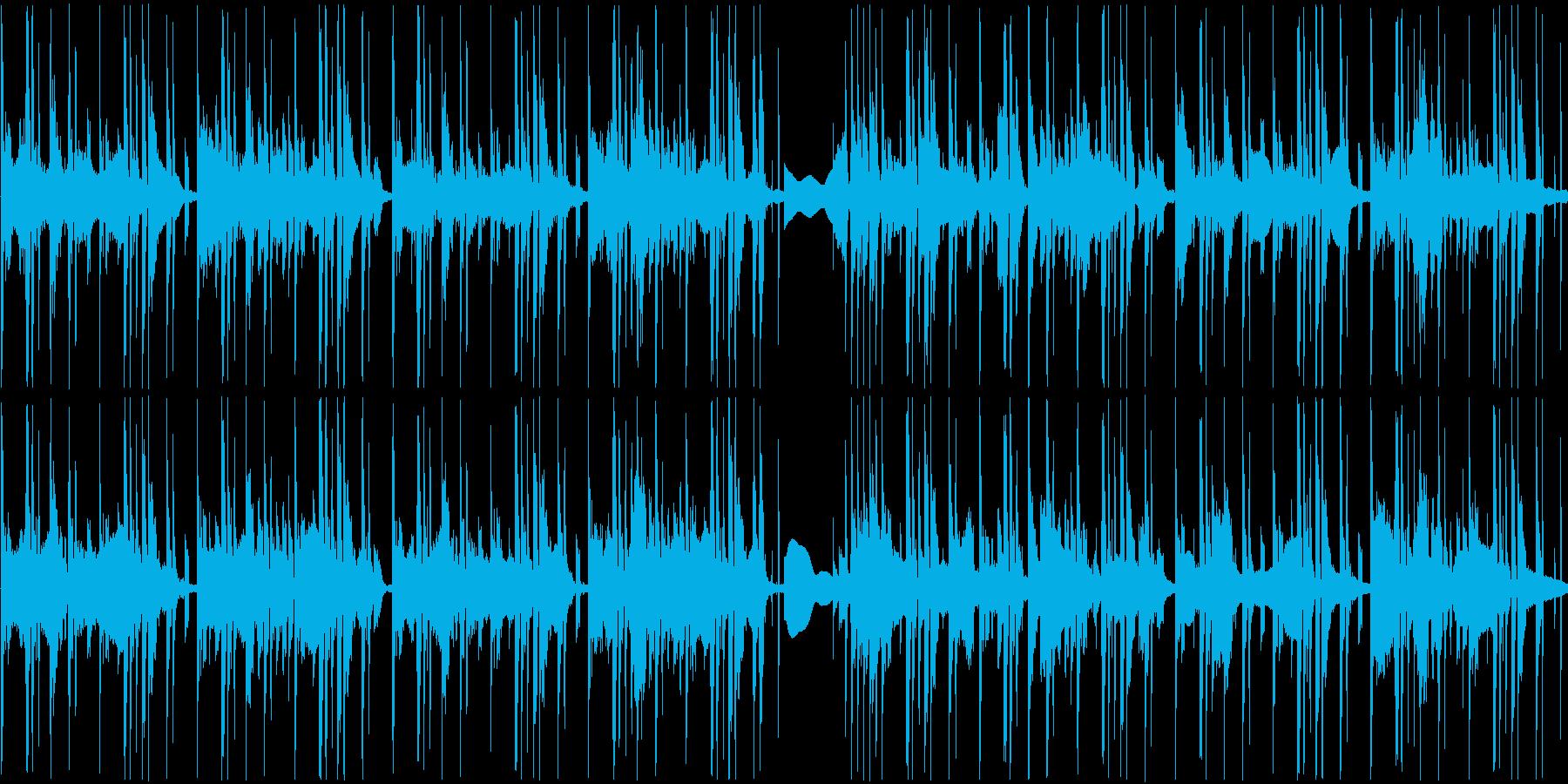 穏やかだけど少し変な曲です。の再生済みの波形