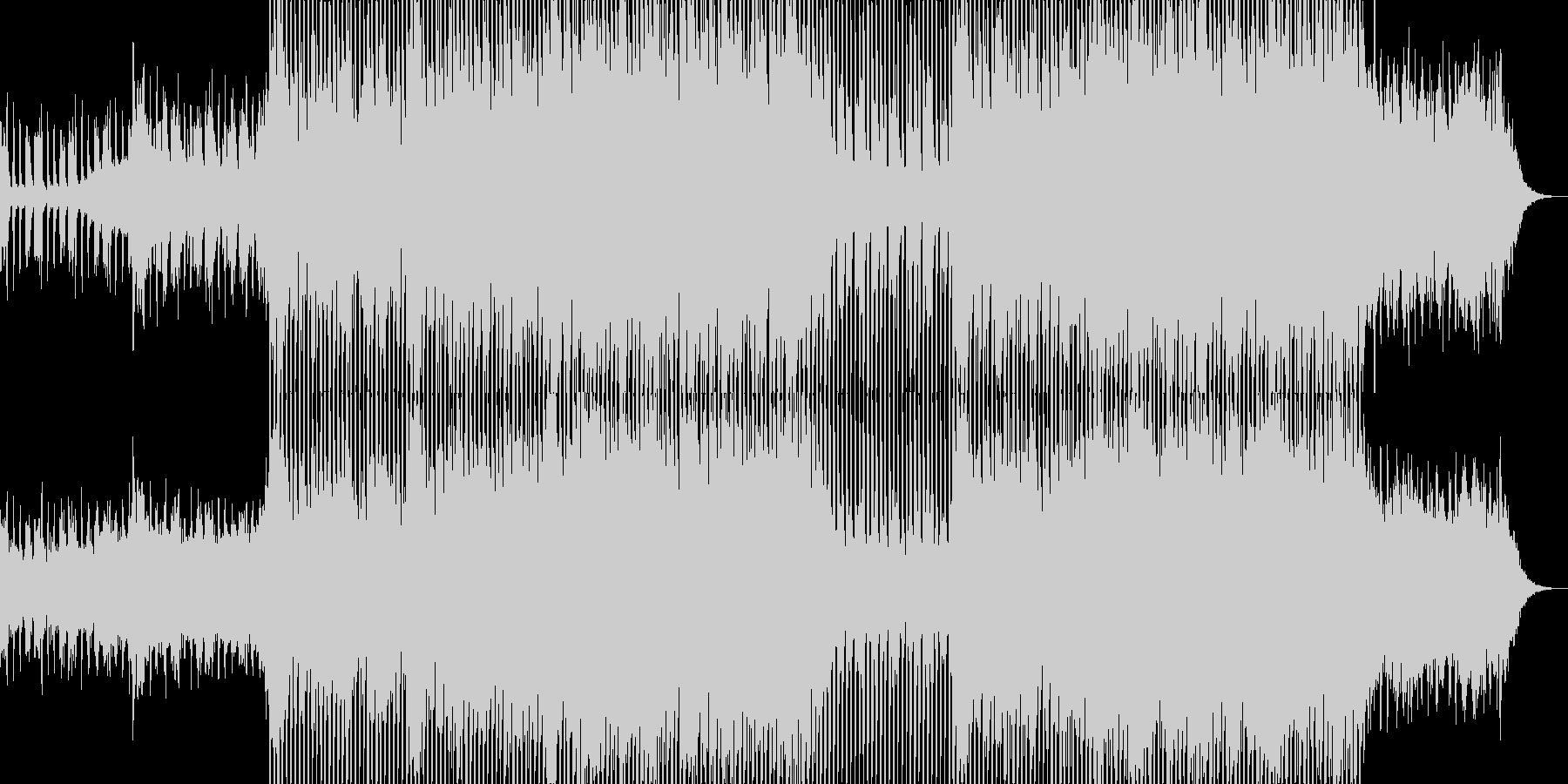シンセブラスが軽快なクラブ系EDM-04の未再生の波形