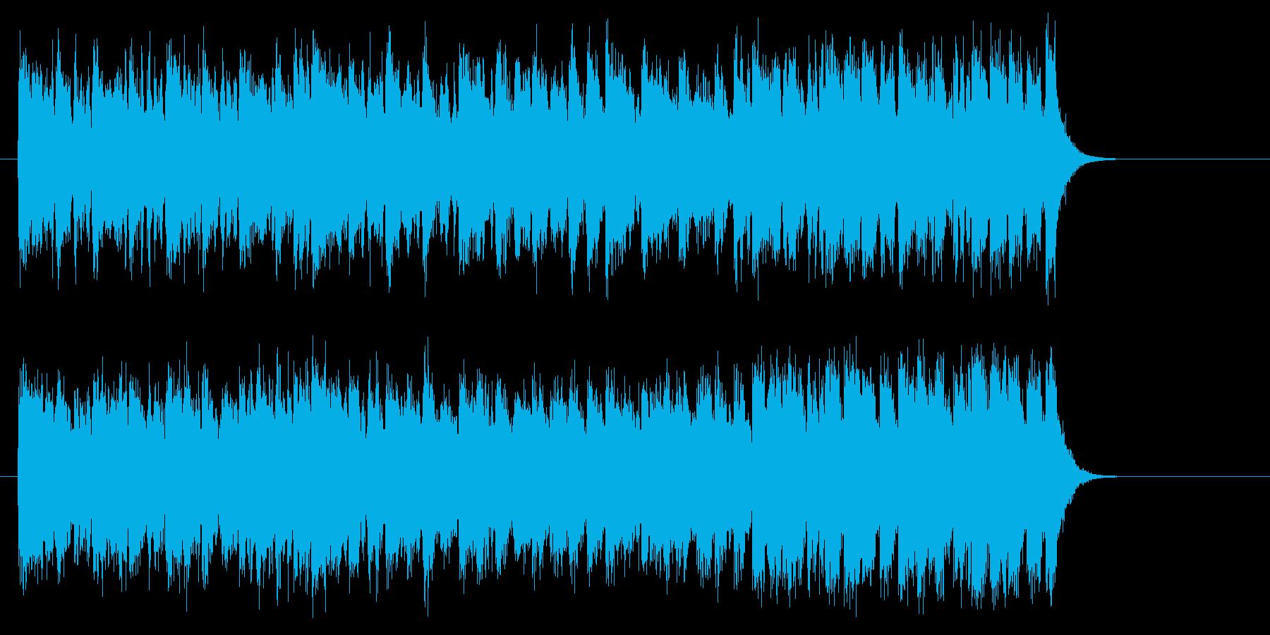 勇者のオーケストラ風音楽(サビ~エンド)の再生済みの波形